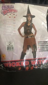 Wicked Witch costume Teen/Young Adult size $20 Toronto, M3N 1A7