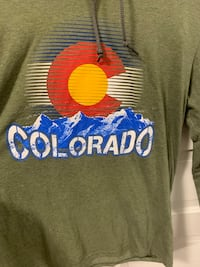 Brand new men's Colorado hoodie long sleeve t shirt size M $5 Lincoln, 68502
