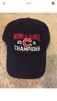 2016 Cubs World Series Champion hat adjustable New with Tags Glenview, 60026