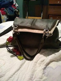 brown and black leather tote bag by espe Kansas City, 64134
