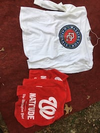 Nationals Long sleeved T-shirt and 3 rally towels Chevy Chase, 20815