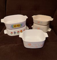 Sale on Miscellaneous, Pretty Pieces!! 5 Vintage CorningWare Casserole Dishes Vienna, 22180