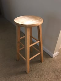 solid  wood stool, in excellent condition, obo Raleigh, 27606