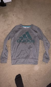 Grey adidas sweater Burnaby, V5H 4N4