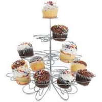 Brand New 3 Tier Spiral Wire Cupcake Stand New Westminster