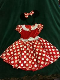 Minnie Mouse Costume 3T and 2T Riverdale, 30274