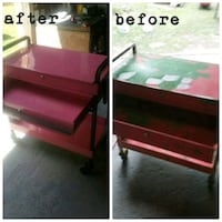 Restored a snap on roll around tool box  Bethune, 29009