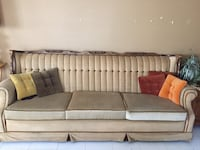 Suedes light brown couch