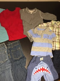 9 piece boys lot, size 12-18 months Saratoga Springs