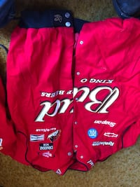 Budweiser jacket a lot of sponsors  Leonardtown, 20650