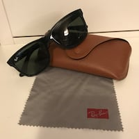 black framed Ray-Ban sunglasses with case Markham, L6B 1C6