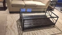black and gray ottoman bed Westminster, 21157
