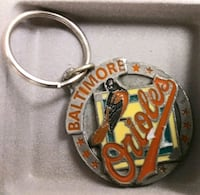 Baltimore Orioles Pewter keychain Winchester, 22601