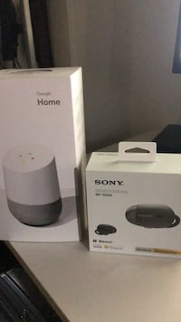white Google Home Mini speaker box San Jose, 95134