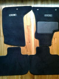 two black Toyota Camry mats Montreal