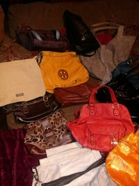 assorted-color leather bag lot Granite City, 62040