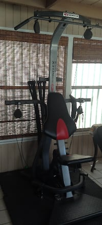 black and red stationary bike Los Angeles