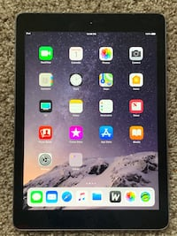 Space grey iPad 16gb 32 mi