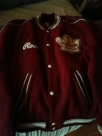 red button up rare roots jacket like new.  Toronto, M4J 3Z8