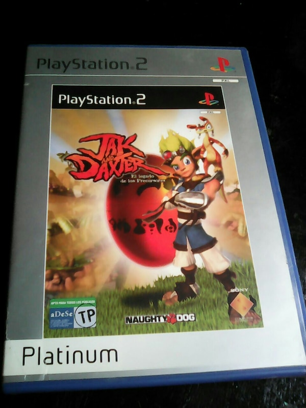 PS2 jak and daxter
