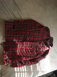 Men's M/L insulated flannel/jacket