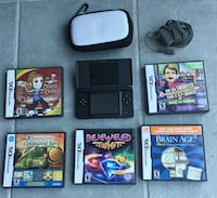 Nintendo DS with 6 Games and with case in mint condition! Oakville, L6M 5B2