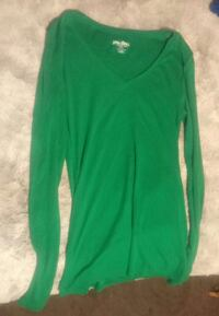 Green long sleeve Athens