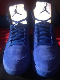 Pair of blue air jordan basketball shoes Sz 12 New York, 11210