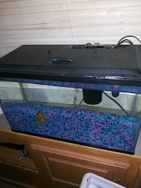 10 gallon Fish tank with lights and ect North Edwards, 93523