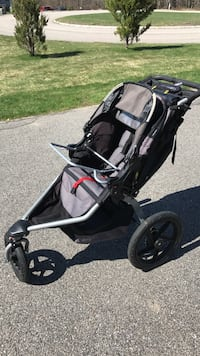letgo black and gray jogging stroller in madbury nh. Black Bedroom Furniture Sets. Home Design Ideas