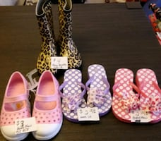Girls shoes & 1 PR boots **Buy all 4 for $10**