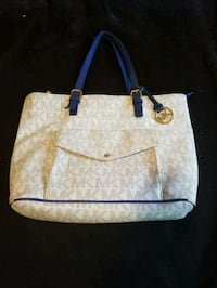 Micheal Kors blue leather bag Woodbridge, 22191