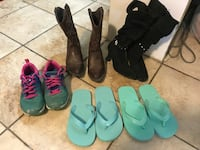 Girls show lot sz 13/1 (flip flops SOLD) Hamlet, 28345
