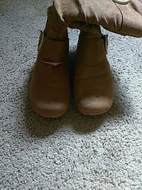 Light Brown Winter Boots