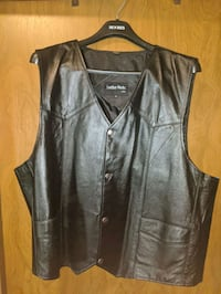 3xl leather vest Coquitlam, V3B 7Y3