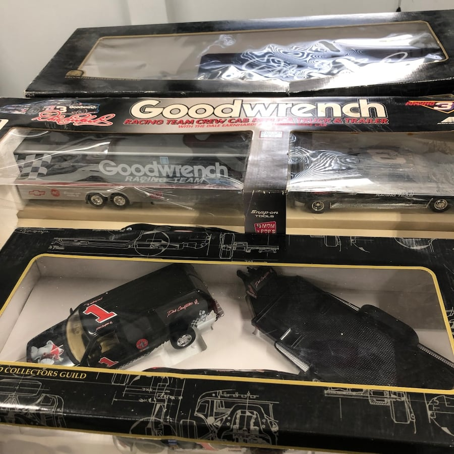 Huge Dale Earnhardt Sr. & Jr. Diecast collection Cars, and misc. 29df7337-f9b8-493d-a808-61195f7b42fc