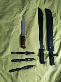 Knifes and machete
