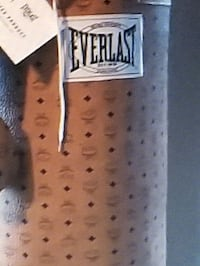 This punching bag was a collaboration MCM x EVERLA
