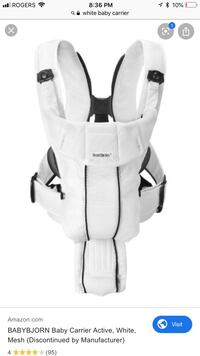 Baby carrier babybjorn Mississauga, L5K 1P2