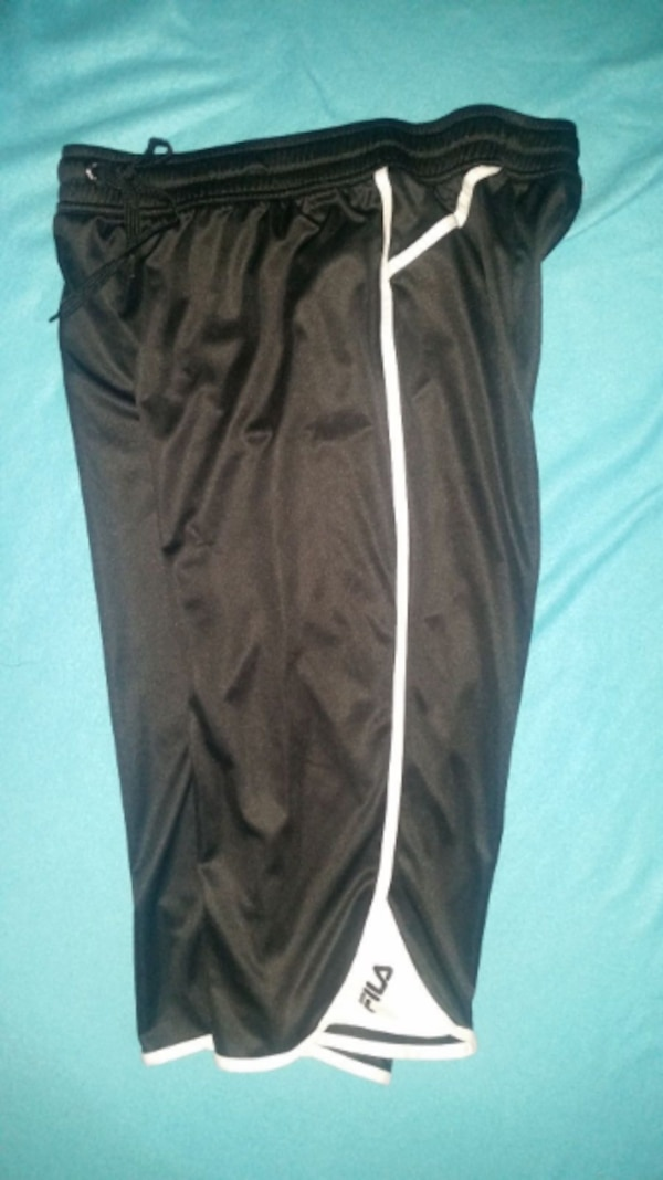 984a911e5ef Used FILA ATHLETIC SHORTS MENS L BLACK LONG NWOT for sale in Milford ...