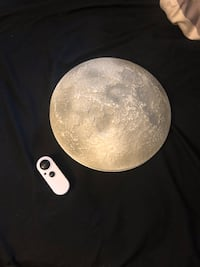 Realistic Moon wall light Toronto, M6M 1P3