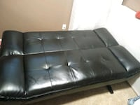black leather tufted sectional sofa Portsmouth, 23701