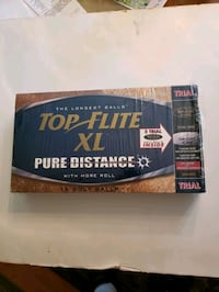 New in box 18-golf balls XL Top Flite Pure Distance  Chelmsford, 01824