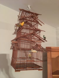 Bamboo bird cage, spinning wheel and old washer make offers College Park, 20742