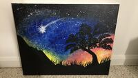 Starry night Annandale, 22003