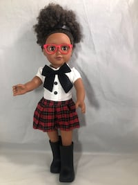 African American Doll Cute Adorable Natural hair Citi Toy 18 inch Fort Washington, 20744