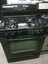 Ge black stove excellent condition 4 months warran Baltimore, 21223