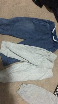 Blue and grey 12-18 month pants  3733 km