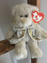 Ty bear with tag excellent condition Barrie, L4N 6X8