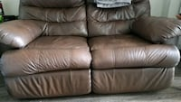 Leather couch (brown)  Arlington, 22213
